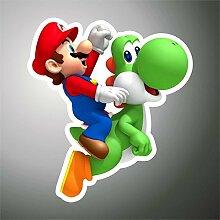 Aufkleber - Sticker Yoshi Super Mario PSP XBOX Sticker