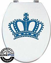 Aufkleber TÜRKIS Krone für Pressalit WC