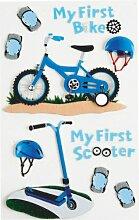 Aufkleber Verzierungen Little B Erste Fahrrad Boy M Aufkleber