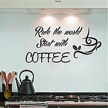 Aufkleber Vinyl Wall Art Decals Buchstaben Zitate