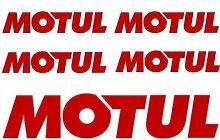 Aufkleber wählbar Adhesivo Sticker 5NASA Aufkleber Sticker Sponsor Motul vorgeschnitten, Auto, Motorrad, Helm 19,5cm x 9,5cm Aufkleber Autocollan