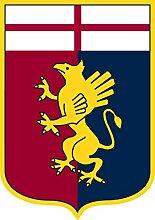 Aufkleber wählbar Adhesivo Sticker Genoa 8cm
