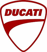 Aufkleber wählbar Adhesivo Sticker Logo Ducati 10cm Aufkleber Autocollan