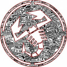 Aufkleber wählbar Adhesivo Sticker Logo Skorpion
