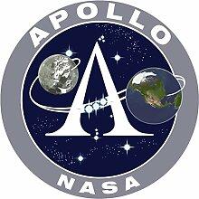 Aufkleber wählbar Adhesivo Sticker NASA Apollo