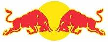 Aufkleber wählbar Adhesivo Sticker Red Bull 10cm Aufkleber Autocollan