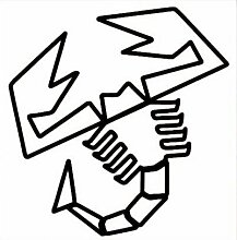 Aufkleber wählbar Adhesivo Sticker Skorpion