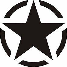 Aufkleber wählbar Adhesivo Sticker Stern