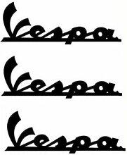 Aufkleber wählbar Adhesivo Sticker-Vespa, Motorrad, Helm 10cm Aufkleber Autocollan
