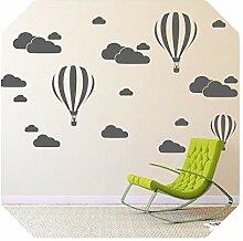 Aufkleber Wand   Cloud Helium Ballon Wandaufkleber