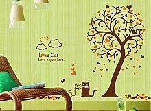 Aufkleber Wandsticker Wandaufklebeliebe Katze