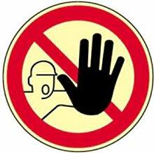 Aufkleber Zutritt für Unbefugte verboten