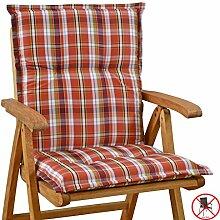 Auflagen fuer Niederlehner Sessel 103 x 52 x 8 cm Miami 10480-300 (ohne Stuhl)