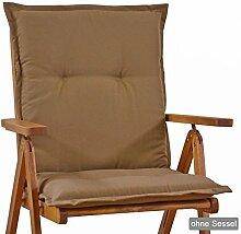 Auflagen fuer Niederlehner Sessel 103 x 52 x 8 cm Miami 50102-61 (ohne Stuhl)