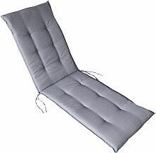 Auflagen Serie Rhodos:Grau, Relaxliegenauflage