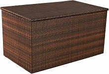 Auflagenbox, Kissenbox, Gartentruhe M, Polyrattan