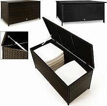 Auflagenbox Kissenbox Polyrattan Gartentruhe