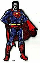 Aufnäher zum Aufbügeln und Aufbügeln Superman