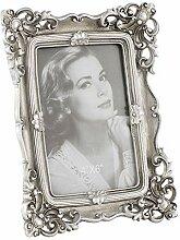Aufora Vintage Bilderrahmen, Silber, 15 cm