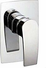 Aufputzarmaturen für die Dusche Einhand Brause Armatur Dusch Armatur Aufputz Einhebelmischer Chrom MU6145