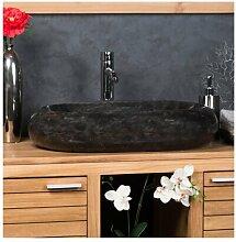 Aufsatz-Waschbecken Vancamp aus Stein
