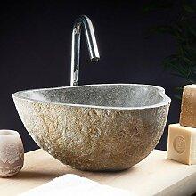 Aufsatzwaschbecken aus Lavastein Steinwaschbecken waschbecken Stein Natur neu