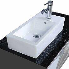 Aufsatzwaschbecken eckig Waschbecken