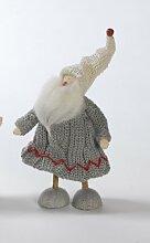 Aufsteller Nikolaus Weihnachtsmann Santa weihnachtliche Dekoration