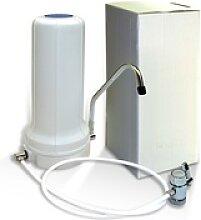 Auftisch Wasserfilter WStelle montiert, Aufkleber,