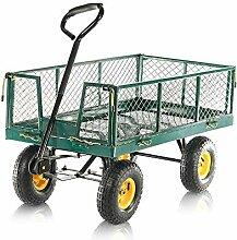 Aufun Gartenwagen Gartenkarre bis 300 kg Handwagen