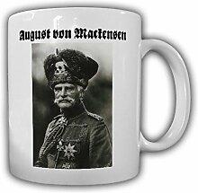 August von Mackensen Husar preußischer Generalfeldmarschall Wk Foto Tasse Kaffee Becher #14197