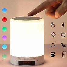 Aujelly Nachttischlampe mit Bluetooth