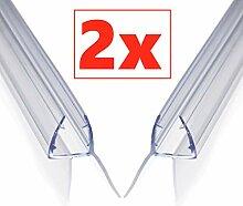 Aulett Premium 2 x 100 cm Duschdichtung -