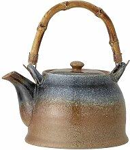Aura-Porzellan-Teekanne