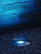 Auraglow LED IP67 Einbauleuchte GU10 Halterung