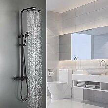 Auralum 2 Funktionen Duschsystem mit Thermostat,