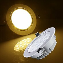 Auralum® 20 x 12W LED Einbauspot Einbauleuchte