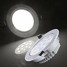 Auralum® 4 x 12W LED Einbauspot Einbauleuchte