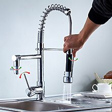 Auralum® Chrom Küchearmatur Moderne Design