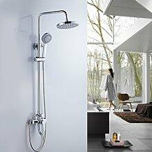 Auralum® Duscharmatur Duschsäule Wandbefestigung