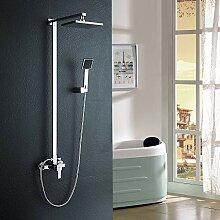 Auralum Duschsystem Duschset Duscharmatur