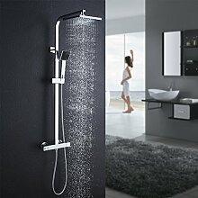Auralum Duschsystem mit Handbrause, Duschset mit