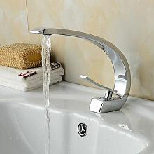 Auralum Einhebelmischer Design Waschtischarmatur