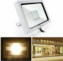 AuraLum® LED 20W SMD3030 IP65 Fluter Flutlichtstrahler Scheinwerfer Außenleuchte AC200-240V Warmweiß [Energieklasse A+]