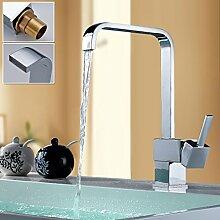 Auralum® Mischbatterie für Waschbecken mit