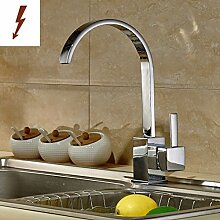 Auralum Niederdruck Waschtischarmatur Wasserhahn Mischbatterie Küchenarmatur Einhandmischer Spüle Küche