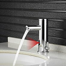 Auralum Sensor Waschtischarmatur LED Wasserhahn
