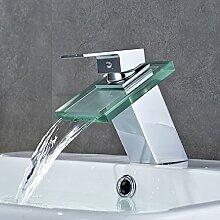 Auralum® Waschbeckenarmatur, für kaltes & warmes