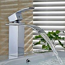 Auralum Wasserfall Niederdruck Waschtischarmatur