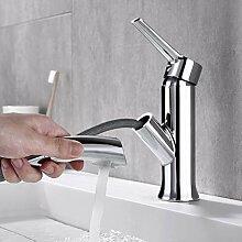Auralum Wasserhahn Bad Waschbecken Armatur mit